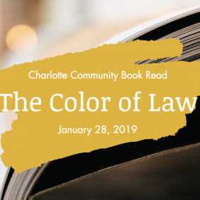 Color of Law: Community Book Discussion with Author Richard Rothstein