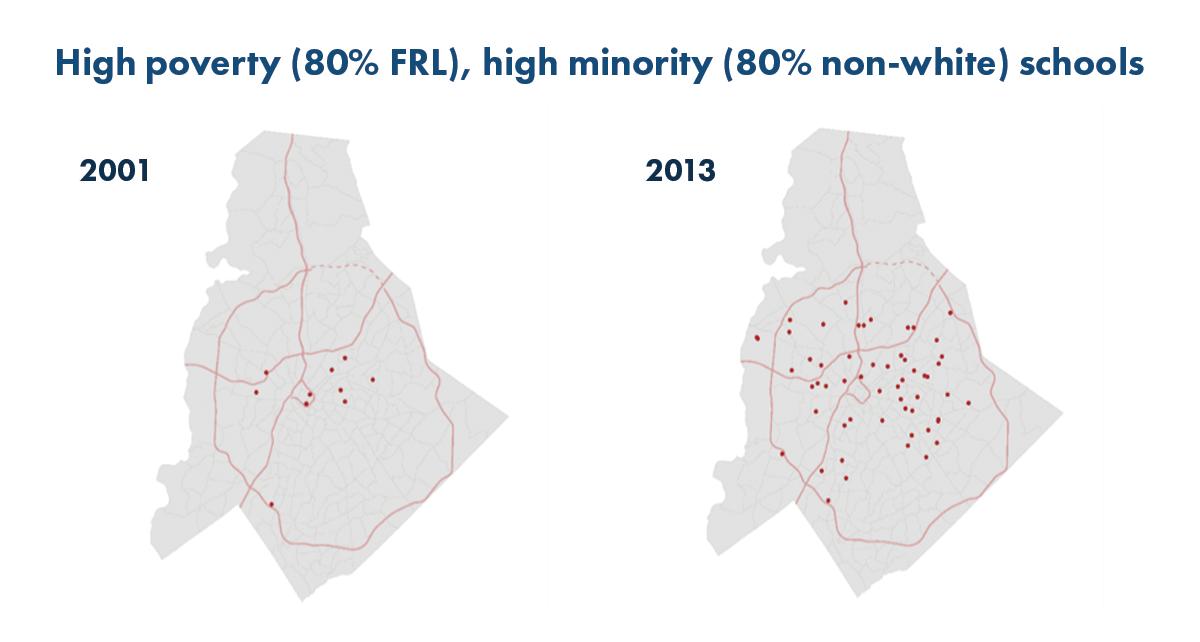 High Poverty High Minority Schools